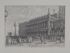 Venice: San Marco Square - Héliogravure, 1975