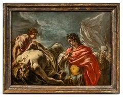 Alexander Before the Body of Darius