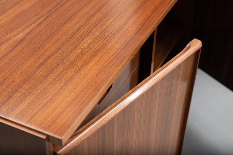 Giovanni Ausenda Walnut Sideboard for Stilwood For Sale 3