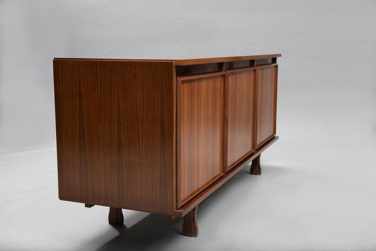 Mid-Century Modern Giovanni Ausenda Walnut Sideboard for Stilwood For Sale