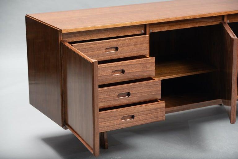 Italian Giovanni Ausenda Walnut Sideboard for Stilwood For Sale