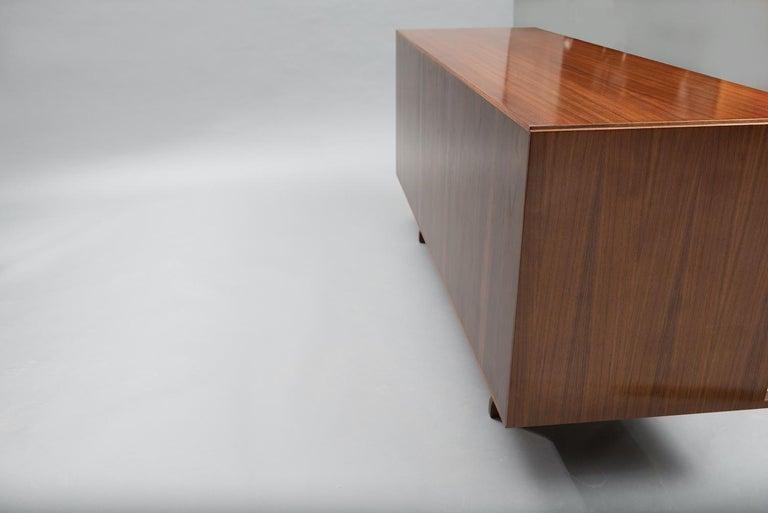 Varnished Giovanni Ausenda Walnut Sideboard for Stilwood For Sale