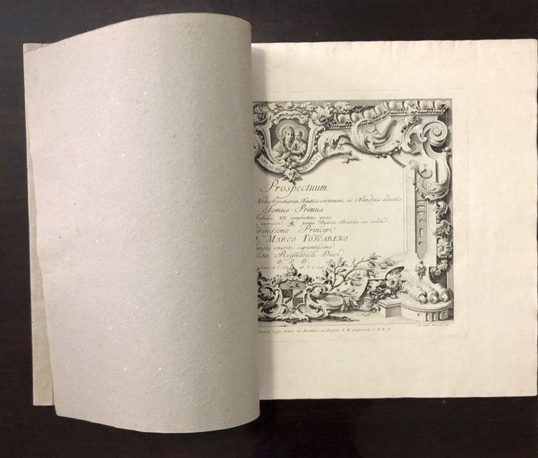 Prospectuum Aedium Viarumque Insignorum Ubis Venetiarum -by G.B. Brustolon- 1763 For Sale 3
