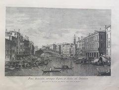 Prospectuum Aedium Viarumque Insignorum Ubis Venetiarum -by G.B. Brustolon- 1763