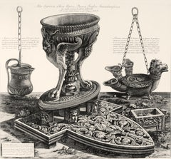 Altra veduta del medesimo in prospettiva - Etching by G.B. Piranesi - 1778