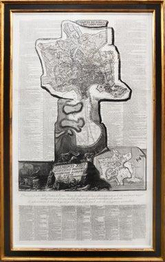 Giovanni Battista Piranesi, Pianta di Roma e del Campo Marzo, 1774