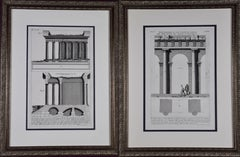 Pair of Piranesi Etchings of Ancient Roman Architectural Objects, 18th Century