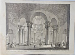Piranesi Architectural View of the Tomb of St. Costanza in Rome, 18th Century