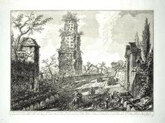 Ruins of an Ancient Tomb -  G. B. Piranesi - 1762