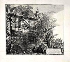 Sepolcro Regio, o Consolare , inciso nella rupe... -  G. B. Piranesi - 1764