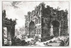 Tempio detto volgarmente di Giano (1st State)