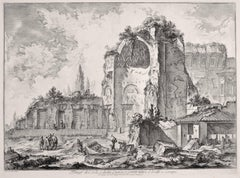 Temples of Iside and Serapi - Etching by G. B. Piranesi - 1759