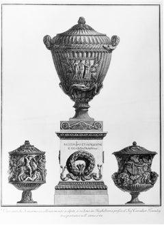 Vasi Antichi di Marmo Eccellentemente Scolpiti... - Etching - 1778