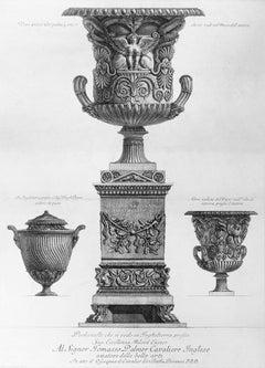 Vasi antichi - Etching by G.B. Piranesi - 1778