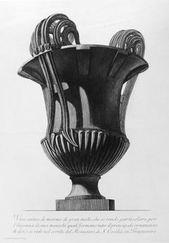 Vaso Antico di marmo di gran mole... - Etching - 1778