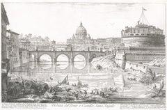 Veduta del Ponte e Castello Sant' Angelo