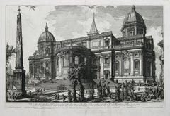 Veduta della Facciata di Dietro della Basilica di S. Maria Maggiore by Piranesi