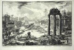 View of the Campo Vaccino -  G. B. Piranesi - 1772