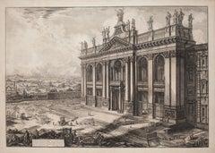 View of the Facade of S. Giovanni in Laterano  -  G. B. Piranesi - 1775