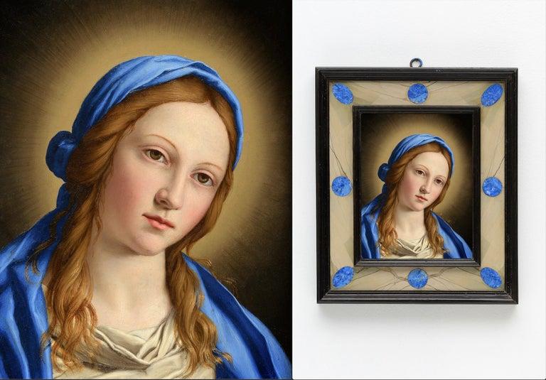 Portrait of Madonna - Old Masters Painting by Giovanni Battista Salvi da Sassoferrato