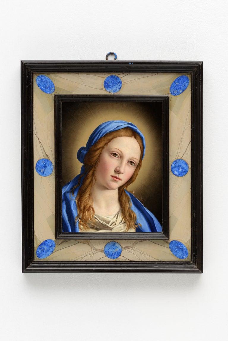 Giovanni Battista Salvi da Sassoferrato Portrait Painting - Portrait of Madonna