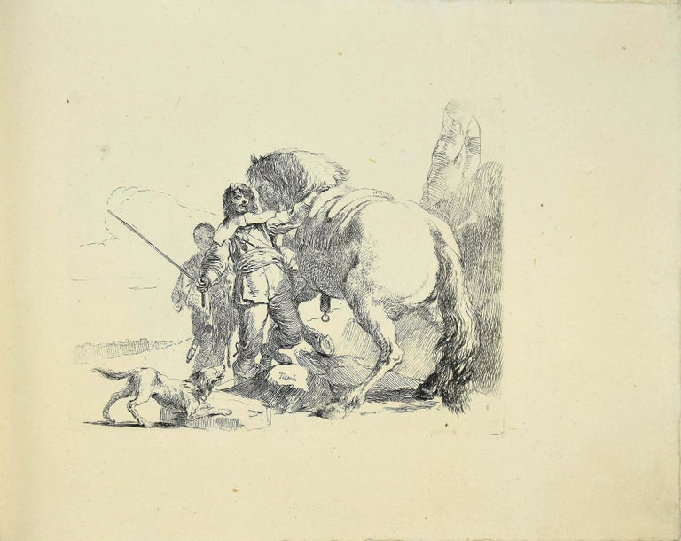 Varj Capriccj - Rare Complete Collection of Etchings by G.B. Tiepolo - 1785 For Sale 1