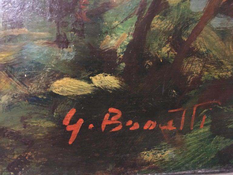 FLOWERS - Italian still life oil on canvas painting, Giovanni Bonetti For Sale 4
