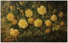 FLOWERS - Italian still life oil on canvas painting, Giovanni Bonetti