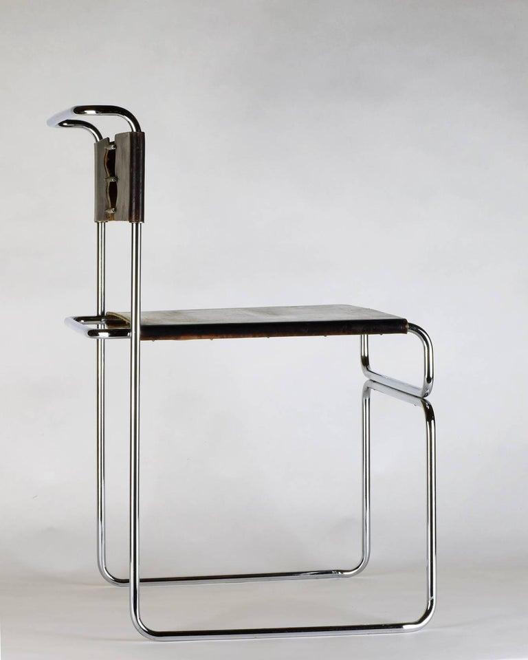 Italian Giovanni Carini for Planula, circa 1970 Stunning, Elegant Side or Desk Chair For Sale