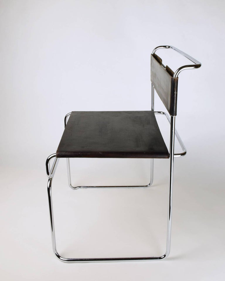 Giovanni Carini for Planula, circa 1970 Stunning, Elegant Side or Desk Chair In Excellent Condition For Sale In London, GB