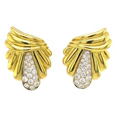 Giovanni Earrings with Diamonds