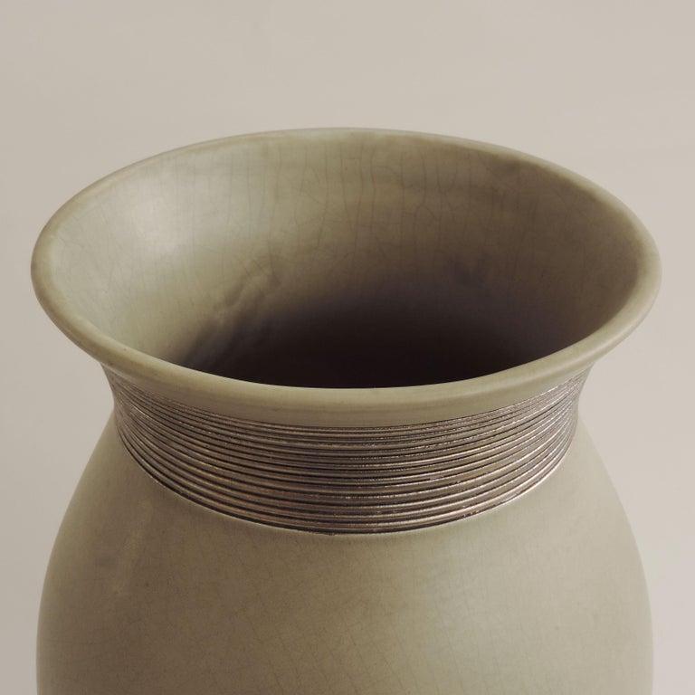 Art Deco Giovanni Gariboldi Vase for Richard Ginori, Milano, Italy, 1930s For Sale