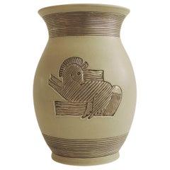 Giovanni Gariboldi Vase for Richard Ginori, Milano, Italy, 1930s