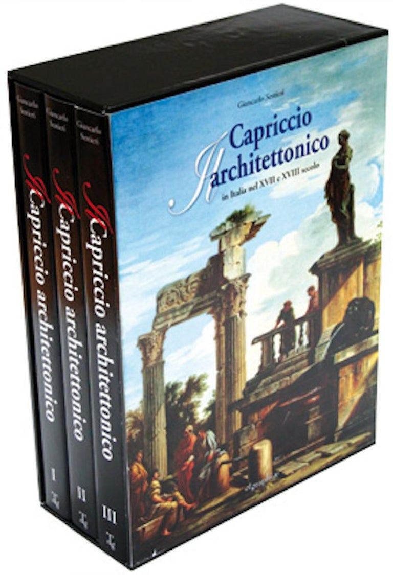Capriccio - 17th Century Oil on Canvas Classical Architectural Ruins Painting  14