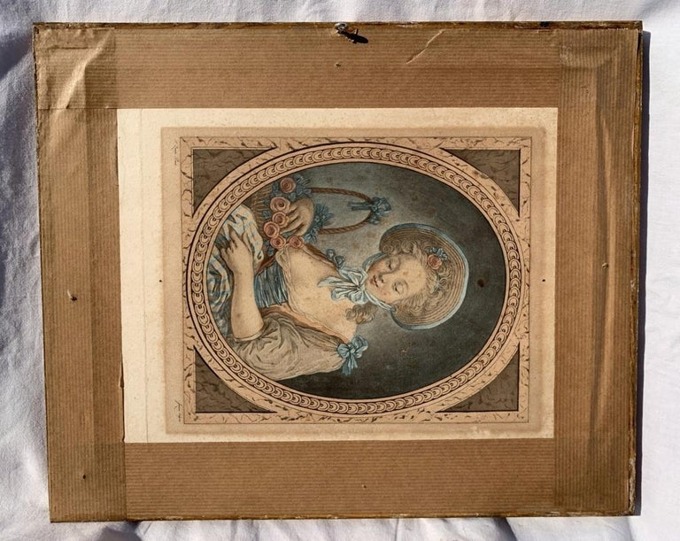 19th century Venetian painting - View Venice - Gouache on paper Grubacs Italy For Sale 8