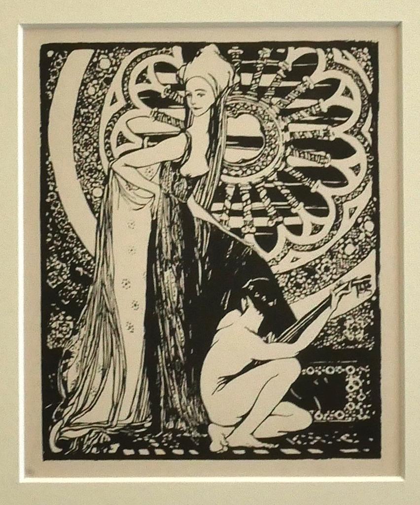 Minstrel - Original Lithograph by Giovanni Guerrini - 1930 ca.