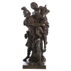"Giovanni Lorenzo Bernini ""Aeneas, Anchises and Ascanio"" by Barbedienne Ferdinand"