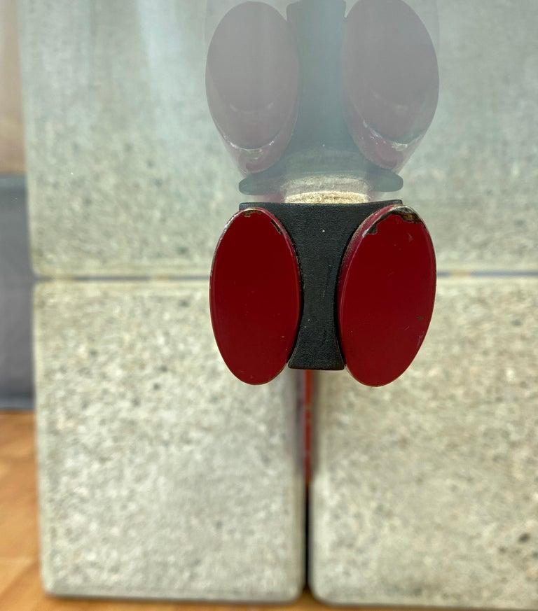 Giovanni Offredi designed Concrete Coffee Table for Saporiti Italia  For Sale 4