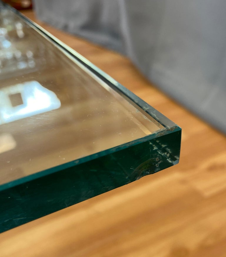 Giovanni Offredi designed Concrete Coffee Table for Saporiti Italia  For Sale 12