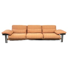 Giovanni Offredi for Saporiti Impressive Post Modern Sofa