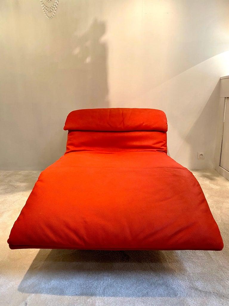 "Giovanni Offredi ""Wave"" Lounge Chair for Saporiti, 1974 For Sale 3"