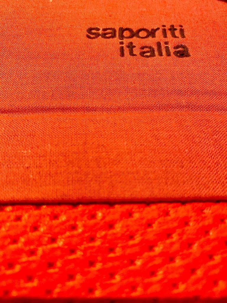 "Giovanni Offredi ""Wave"" Lounge Chair for Saporiti, 1974 For Sale 5"