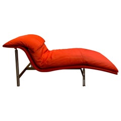 "Giovanni Offredi ""Wave"" Lounge Chair for Saporiti, 1974"