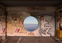 Untitled - Through a Day - A Life #3 - photography,street art,seascape,graffiti