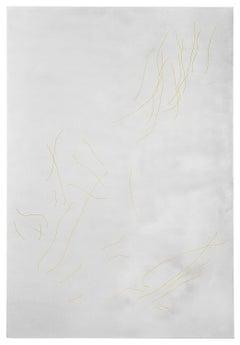 '27.05.17 - Chart' - Aluminium, engraving, bronze, wall sculpture, scars