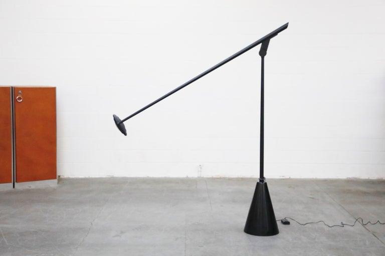 'Giraffa' Postmodern Floor Lamp by Hans Von Kilier for Bilumen, 1985, Italy For Sale 4