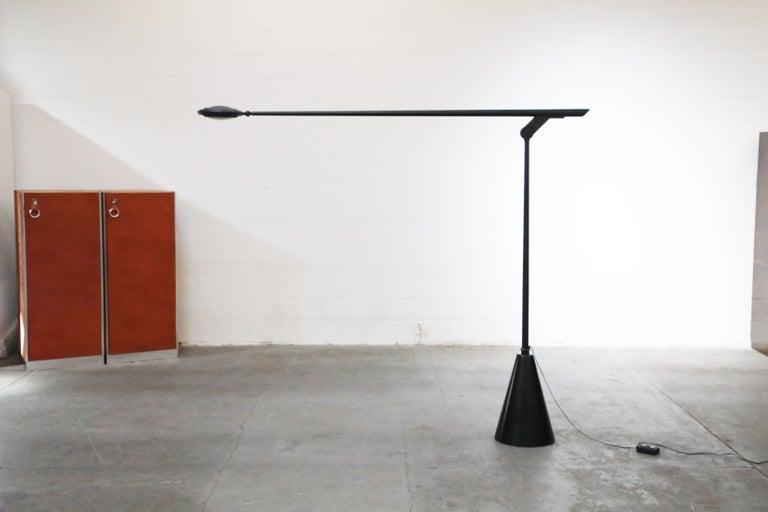 Mid-Century Modern 'Giraffa' Postmodern Floor Lamp by Hans Von Kilier for Bilumen, 1985, Italy For Sale