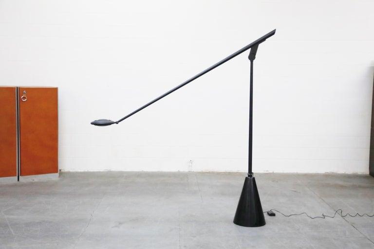 Italian 'Giraffa' Postmodern Floor Lamp by Hans Von Kilier for Bilumen, 1985, Italy For Sale