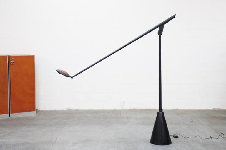 Late 20th Century 'Giraffa' Postmodern Floor Lamp by Hans Von Kilier for Bilumen, 1985, Italy For Sale