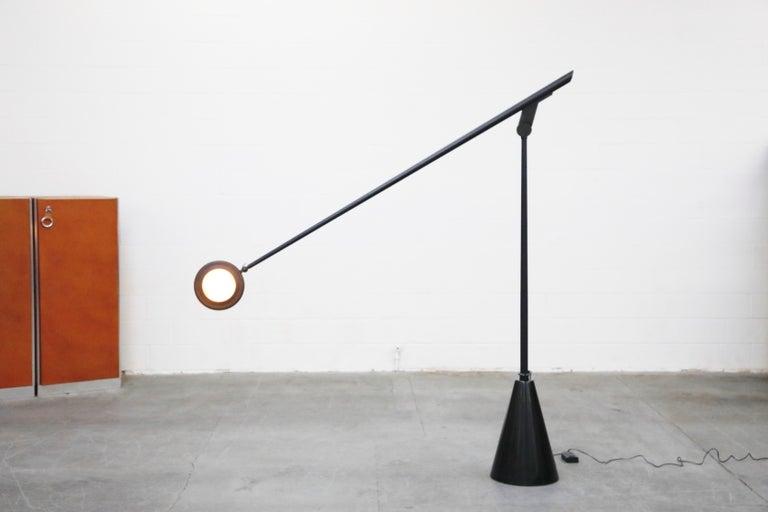 'Giraffa' Postmodern Floor Lamp by Hans Von Kilier for Bilumen, 1985, Italy For Sale 1